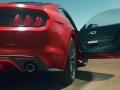 2017 Ford Mustang GT500 opened door