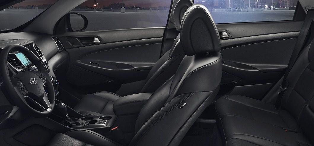 2017 Hyundai Tucson interior 2