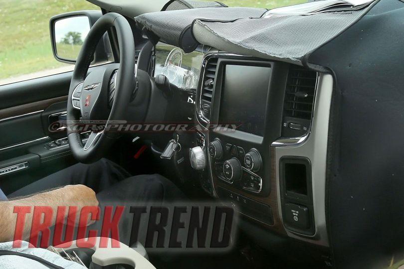 2018 dodge ram leaked. exellent 2018 2018 ram 1500 interior spy photo and dodge ram leaked