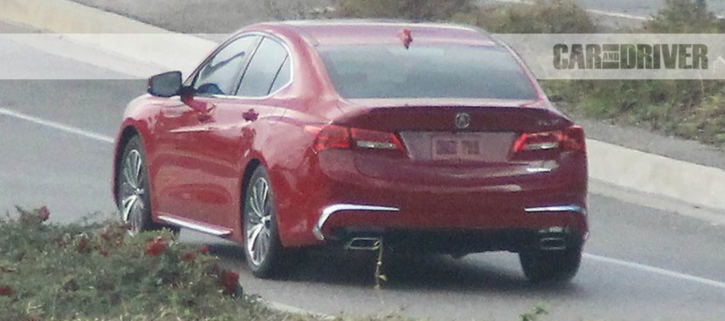 2018 Acura TLX 4