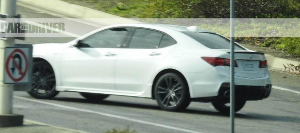 2018 Acura TLX 7