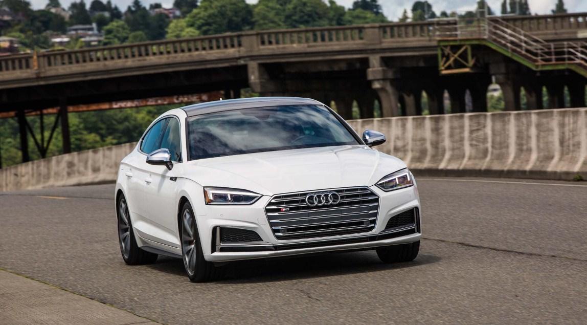 2018 Audi A5 Sportback Front