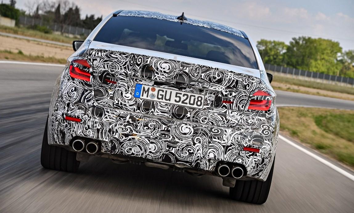 2018 BMW M5 7