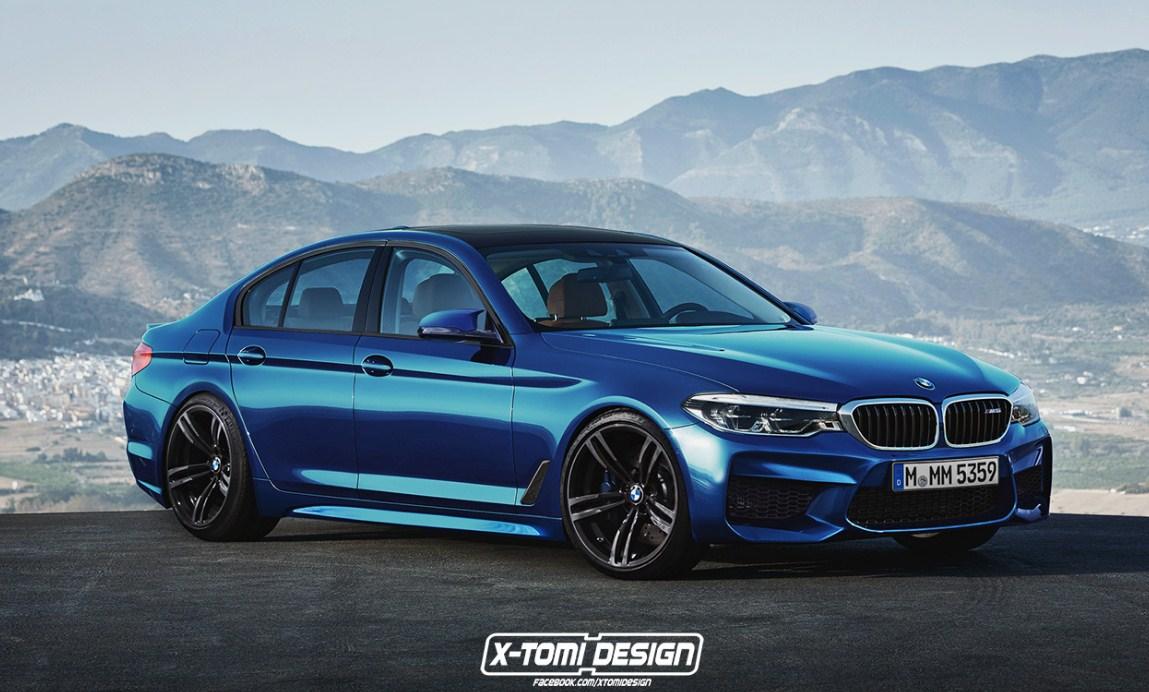 2018 BMW M5 8