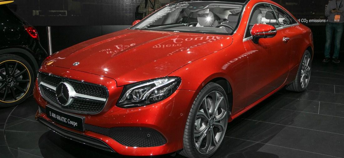 2018 Mercedes-Benz E-Class Coupe 7