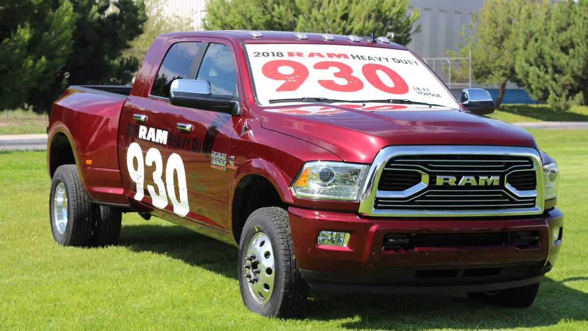 2018 Ram 3500 4