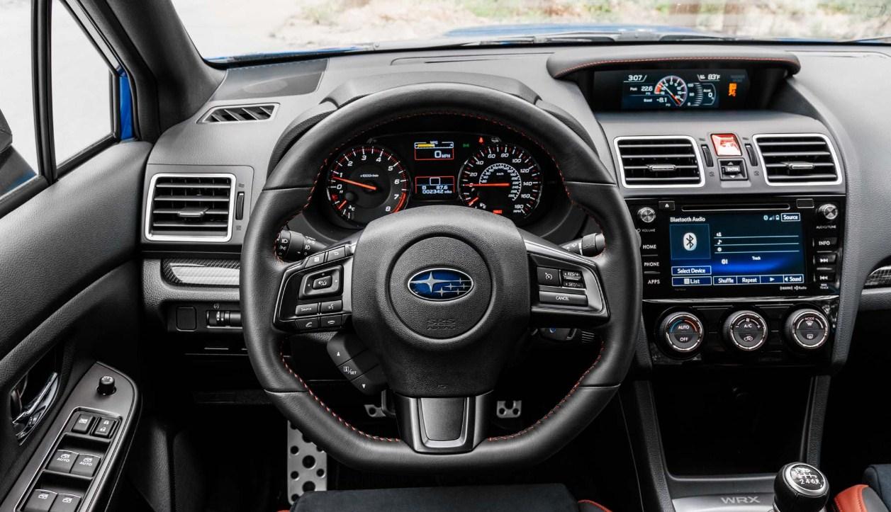 2018 Subaru WRX STI interior 1