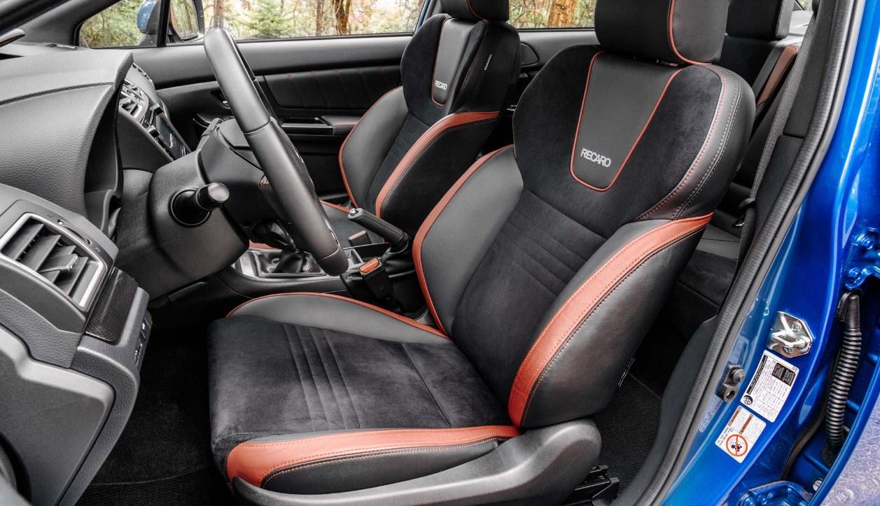 2018 Subaru WRX STI interior