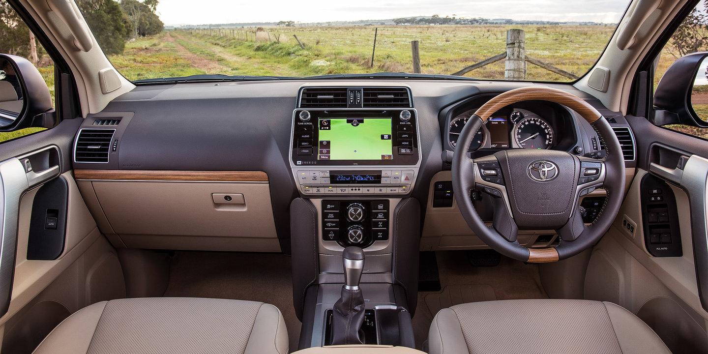 2018 Toyota Land Cruiser Prado interior