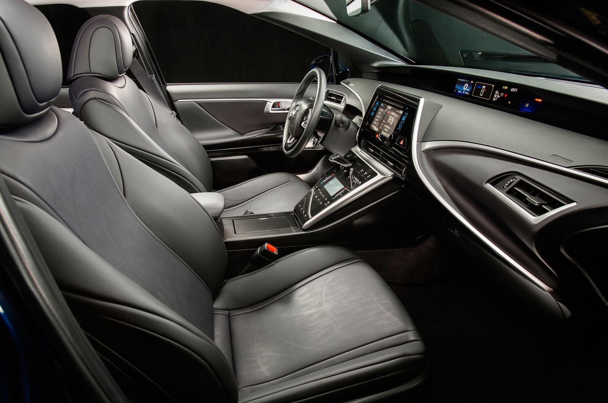 2018 Toyota Mirai interior