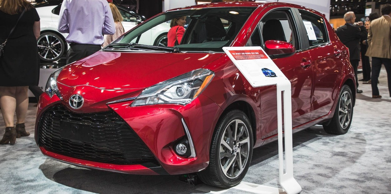 2018 Toyota Yaris 1