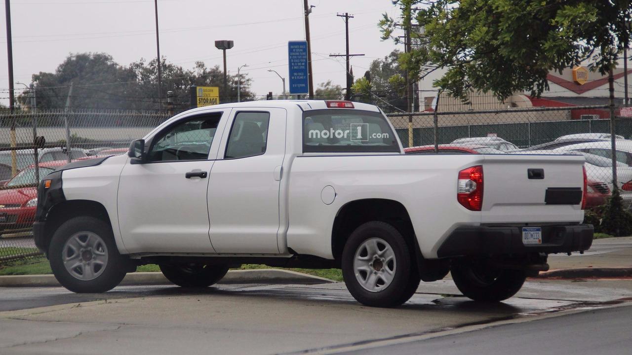 2018 Toyota Tundra spy