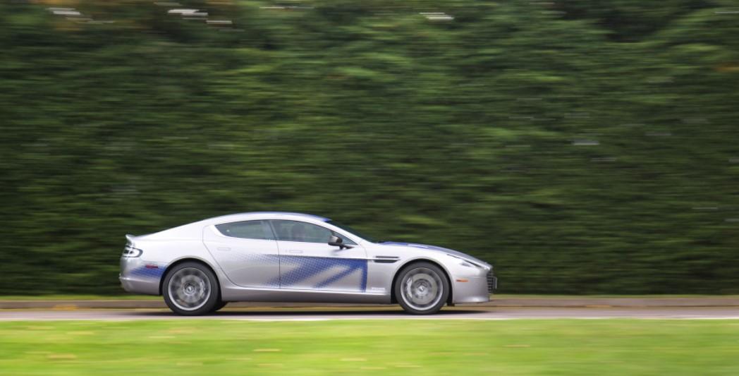 2019 Aston Martin RapidE 2