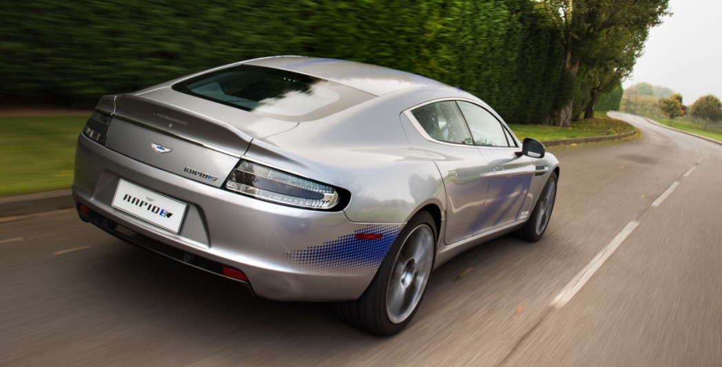 2019 Aston Martin RapidE 3