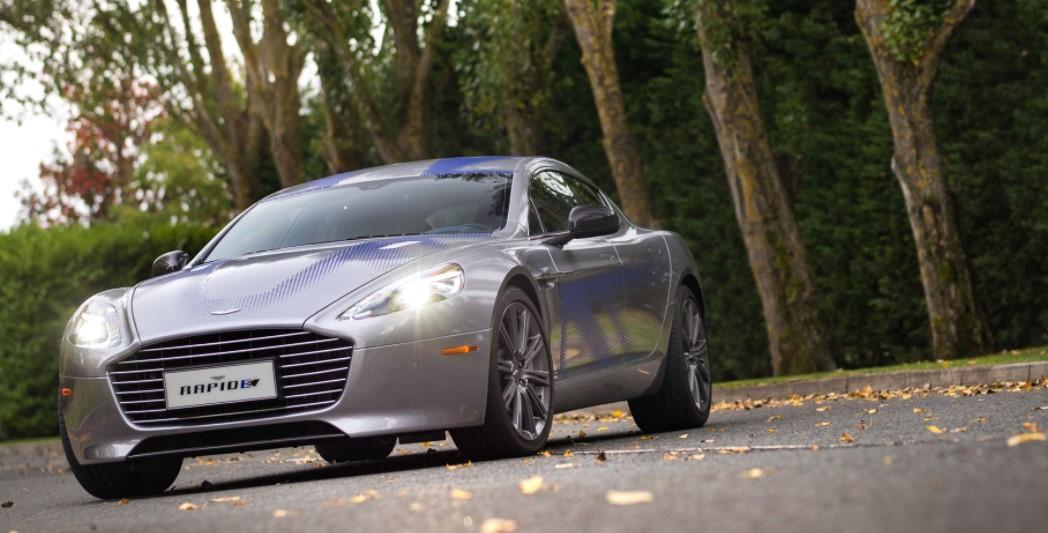 2019 Aston Martin RapidE 5