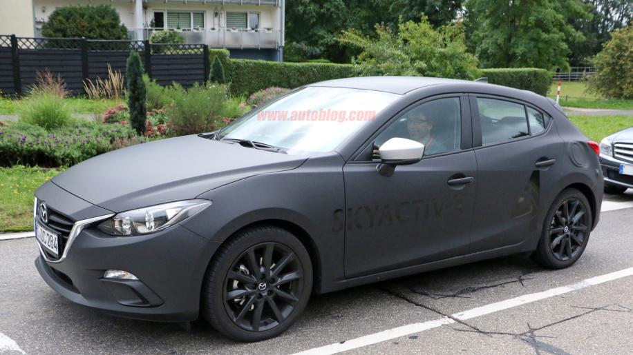 2019 Mazda 3 spy 1