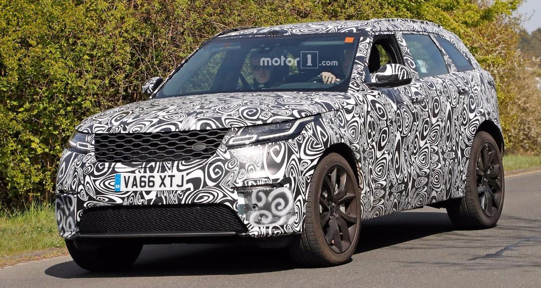 2019 Range Rover Velar SVR 1