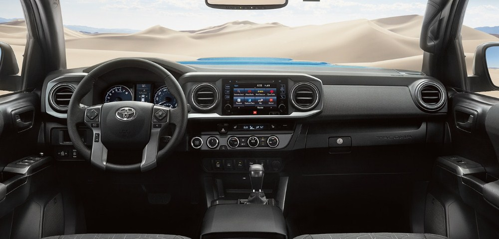 2019 Toyota Tacoma Price Specs Interior Trd Pro