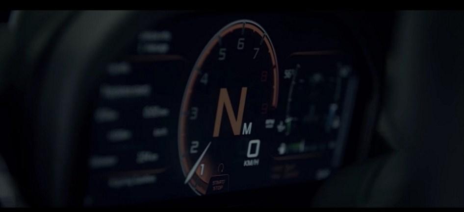 Folding Driver Display 2018 McLaren 720S 1