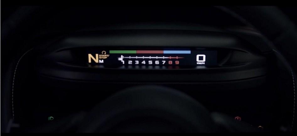 Folding Driver Display 2018 McLaren 720S 2