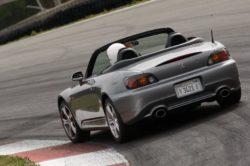 2008 Honda S2000 rear 250x166