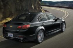 2016 Chevrolet SS Black Back side 250x166