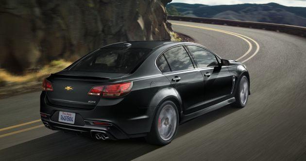 2016 Chevrolet SS Black Back side 630x332