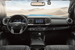 2016 Toyota Tacoma Interior Front 250x166