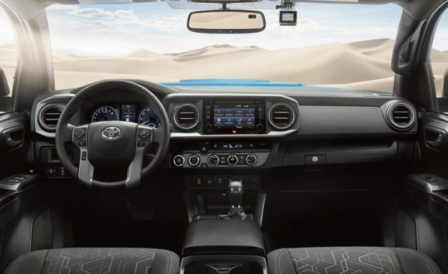 2016 Toyota Tacoma Interior Front 630x385