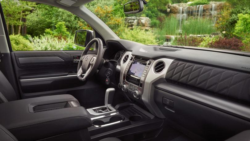 2018 toyota tundra interior. modren tundra 2016 toyota tundra trd pro interior 810x456 intended 2018 toyota tundra 1