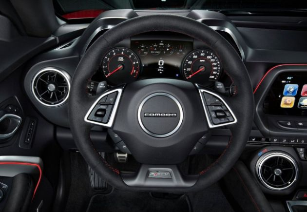 2017 Chevrolet Camaro ZL1 Interior Steering Wheel