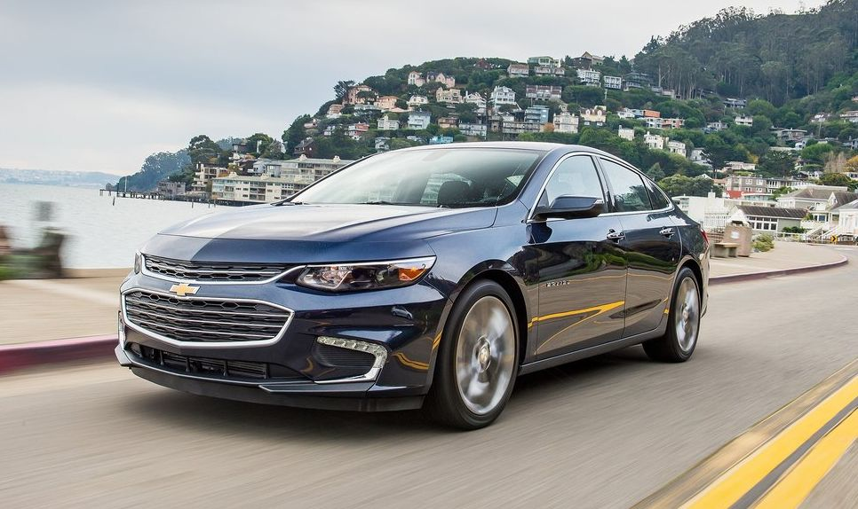 2017 Chevrolet Malibu Spy Photos Release Date Price