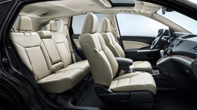 2017 Honda CR V Interior side view 810x455