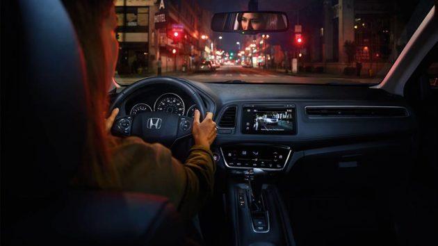 2017 Honda HR V Front View Interior 630x354