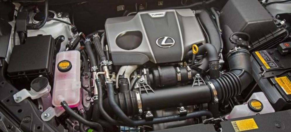 2017 Lexus NX Engine