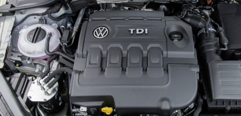 2017 Volkswagen Golf 7 Engine