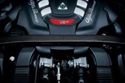 2018 Alfa Romeo Stelvio engine 250x166