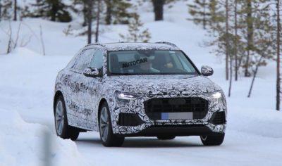 2018 Audi Q8 spy 1 400x236