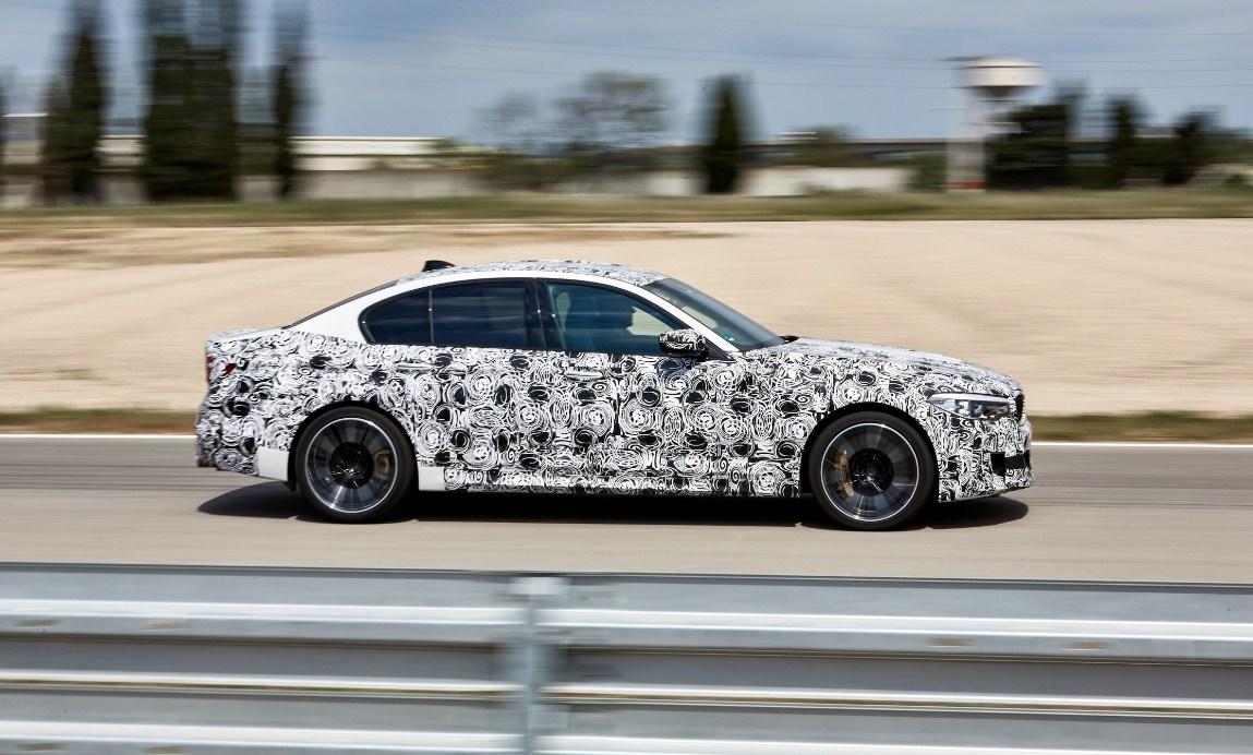 2018 BMW M5 5