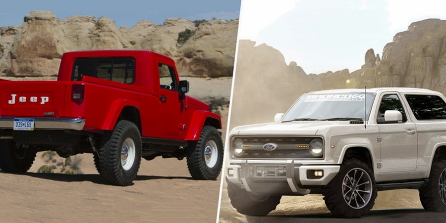 2018 Ford Bronco Jeep