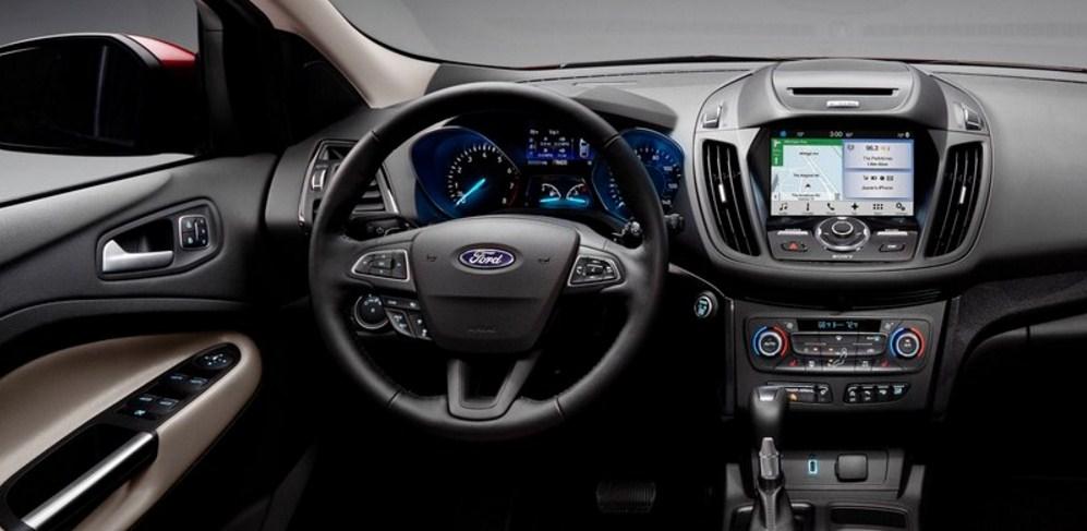 2018 Ford Escape NTERIOR