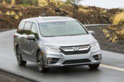2018 Honda Odyssey Front 250x166