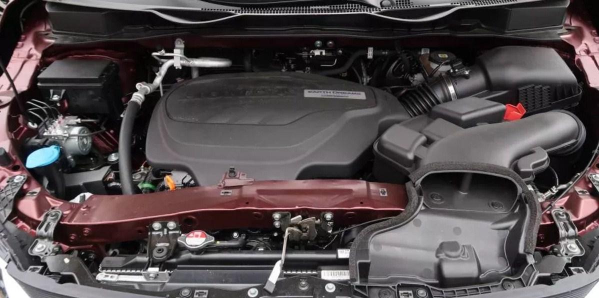 2018 Honda Odyssey eNGINE