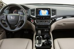 2018 Honda Ridgeline interior 250x166