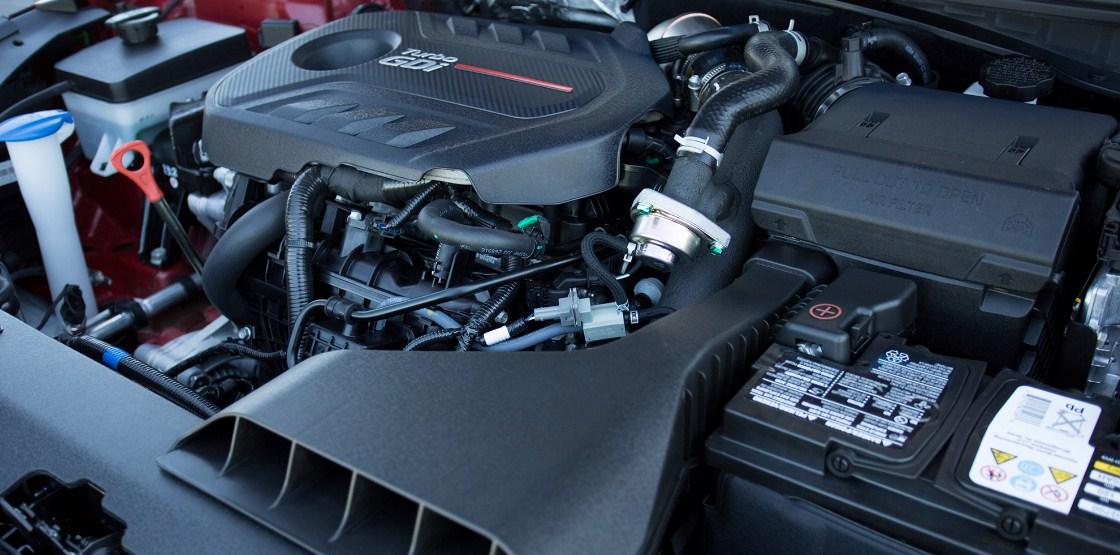 2018 Hyundai Sonata engine 2