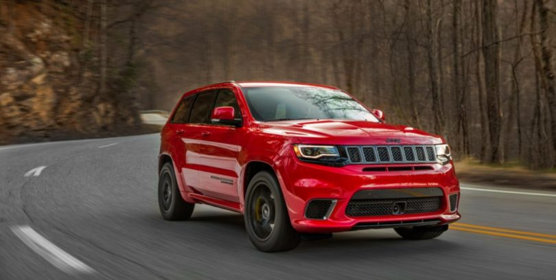 2018 Jeep Grand Cherokee Trackhawk Price And Interior Review