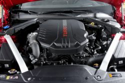 2018 Kia Stinger engine 250x166