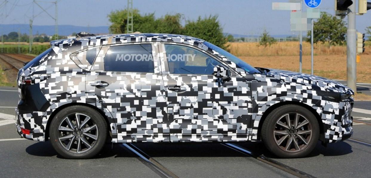 2018 Mazda CX 5 spy