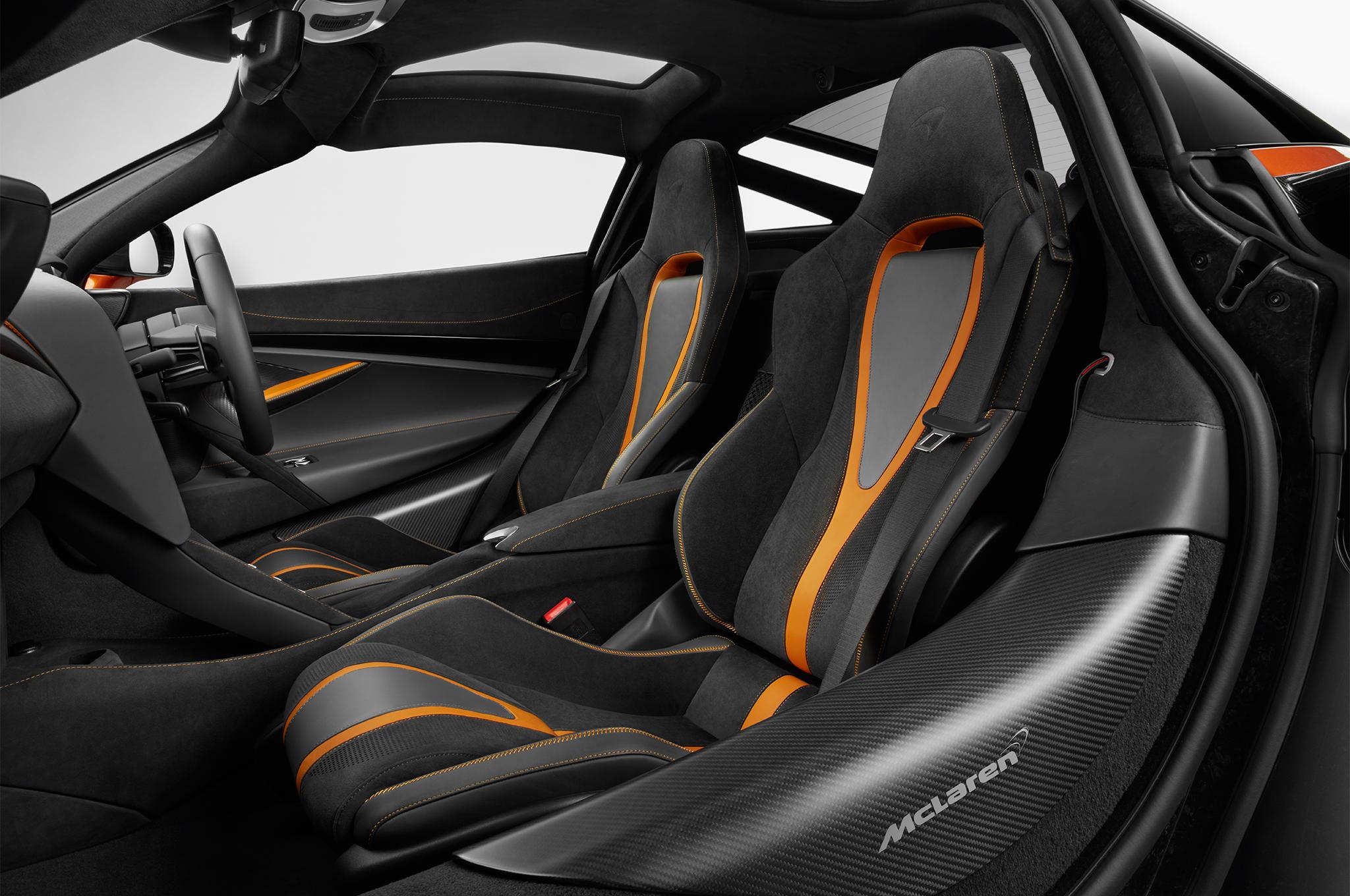 2018 McLaren720S interior front