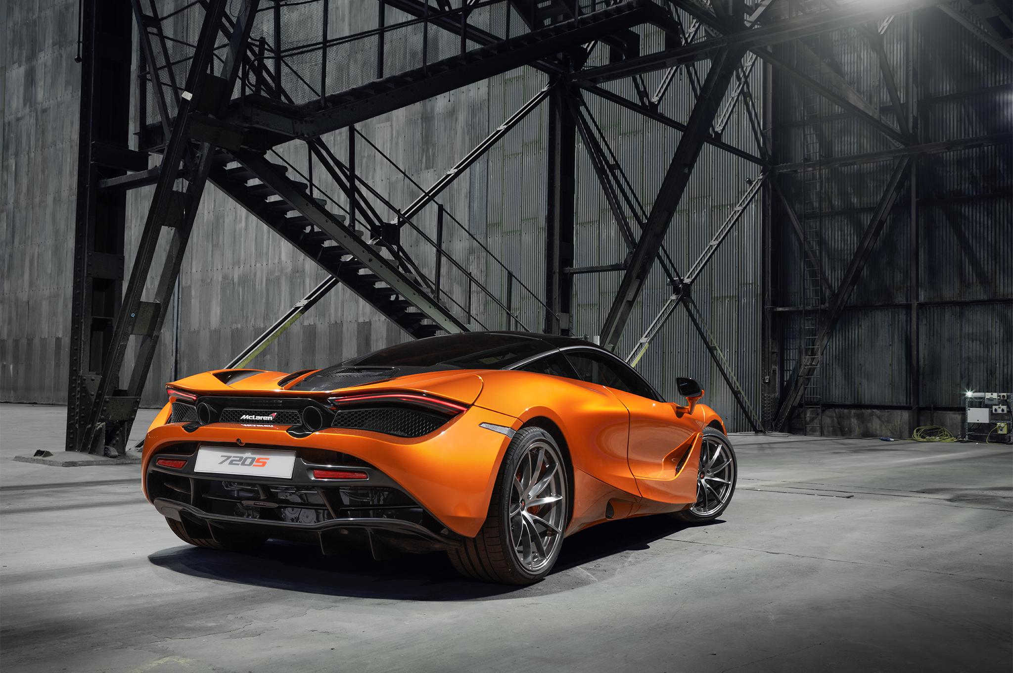 2018 McLaren720S rear